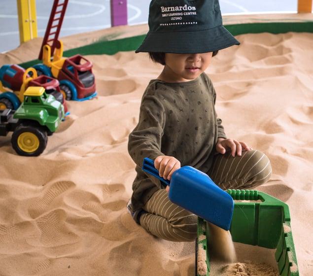 Sand play fun