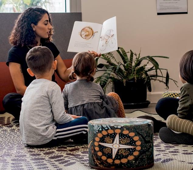 Learning through storytelling